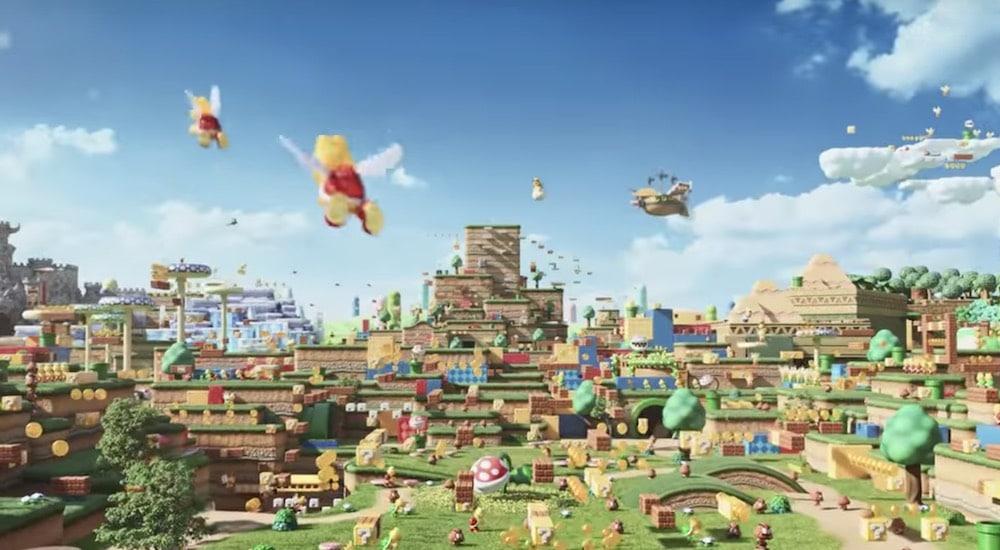 Θεαματική πρόοδος έργων στο Super Nintendo World !